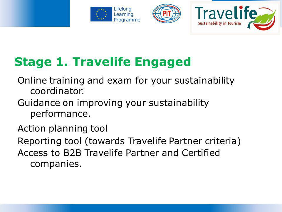 Stage 1. Travelife Engaged