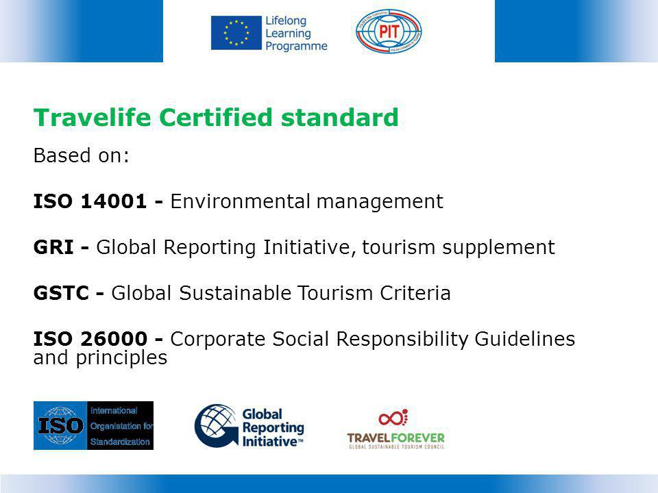 Travelife Certified standard