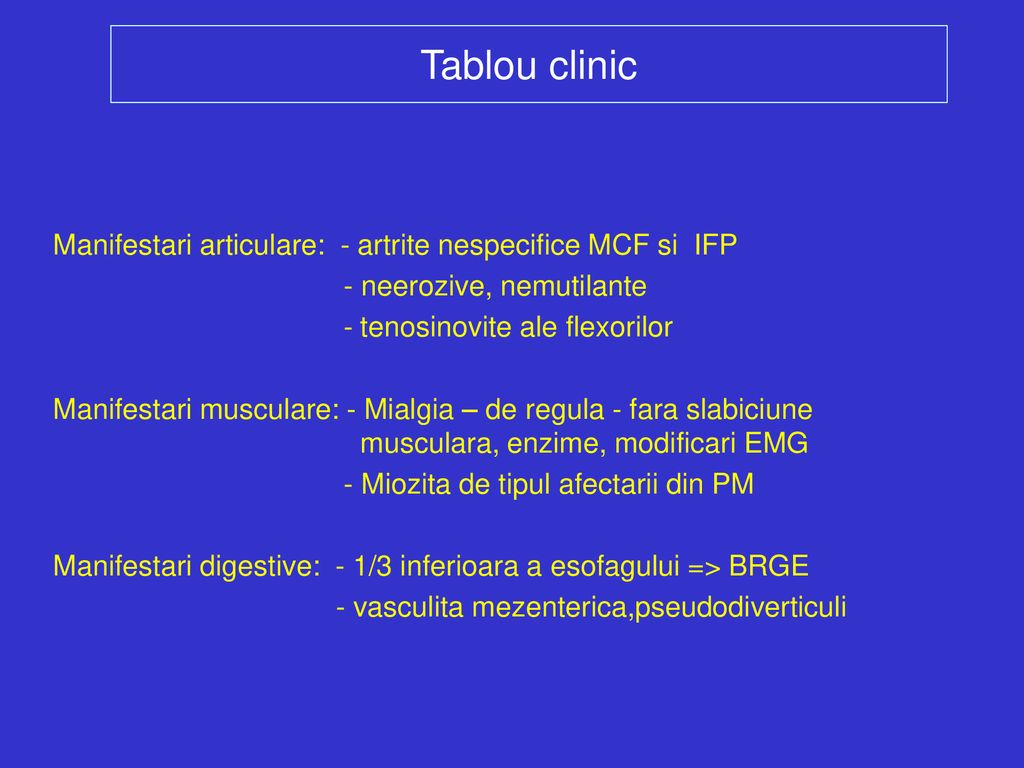 boală de țesut conjunctiv dm