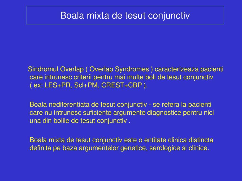 boală combinată a țesutului conjunctiv)