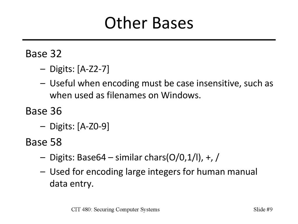 CIT 480: Securing Computer Systems - ppt download