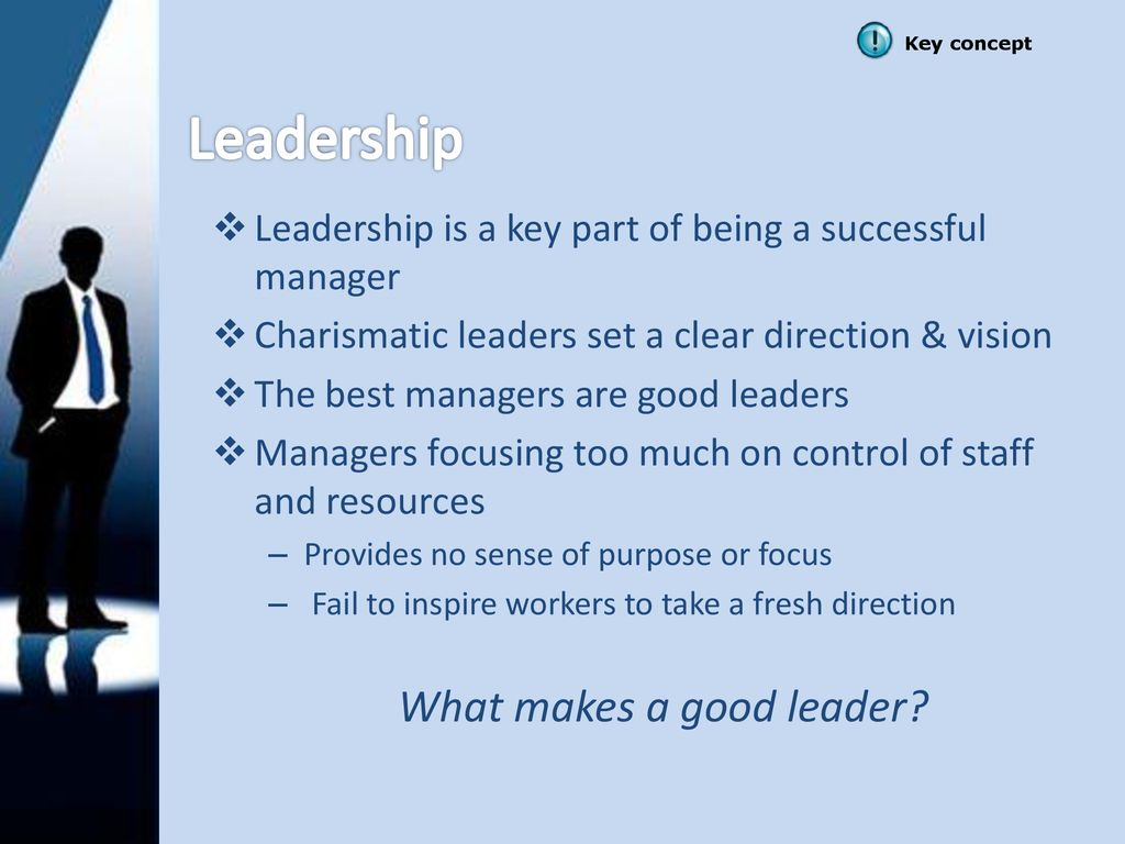 """Leaders vs  Managers """"There is a profound difference between"""