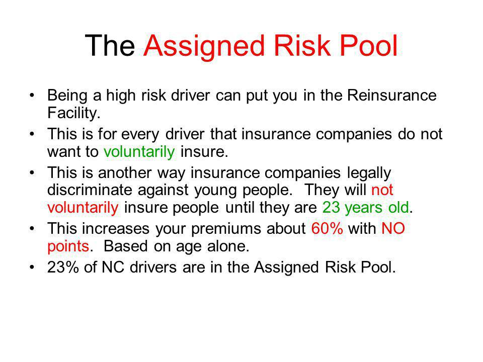 what is assigned risk