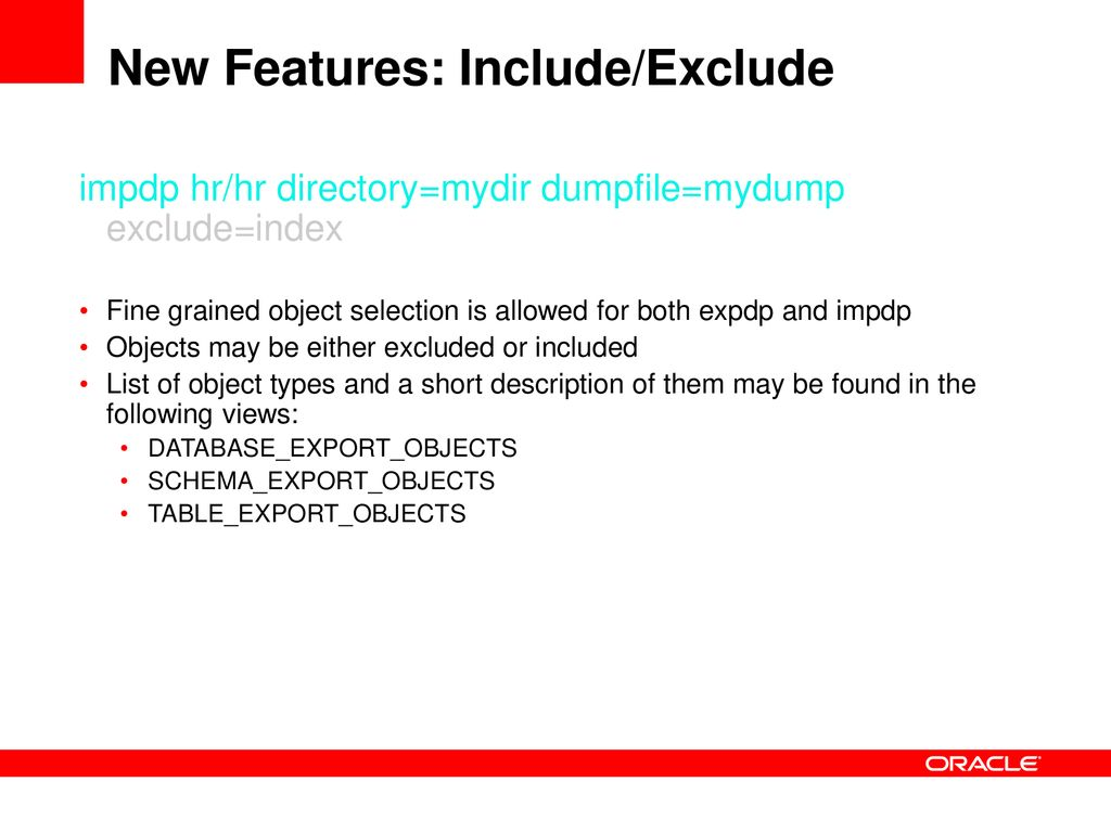 Getting the Most from Oracle Data Pump - ppt download