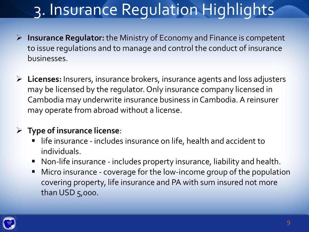 AN Overview of the Insurance Market in Cambodia - ppt download