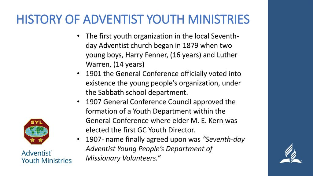 Seminar 1: Introduction to Youth Ministry - ppt download