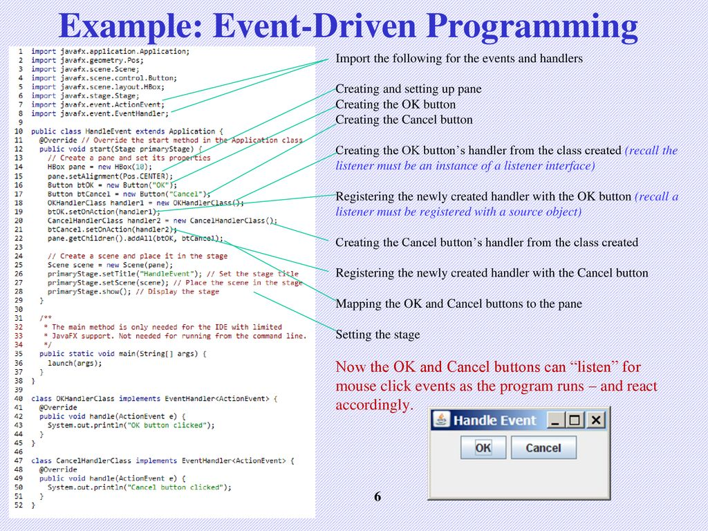 Chapter 15 Event-Driven Programming and Animations - ppt