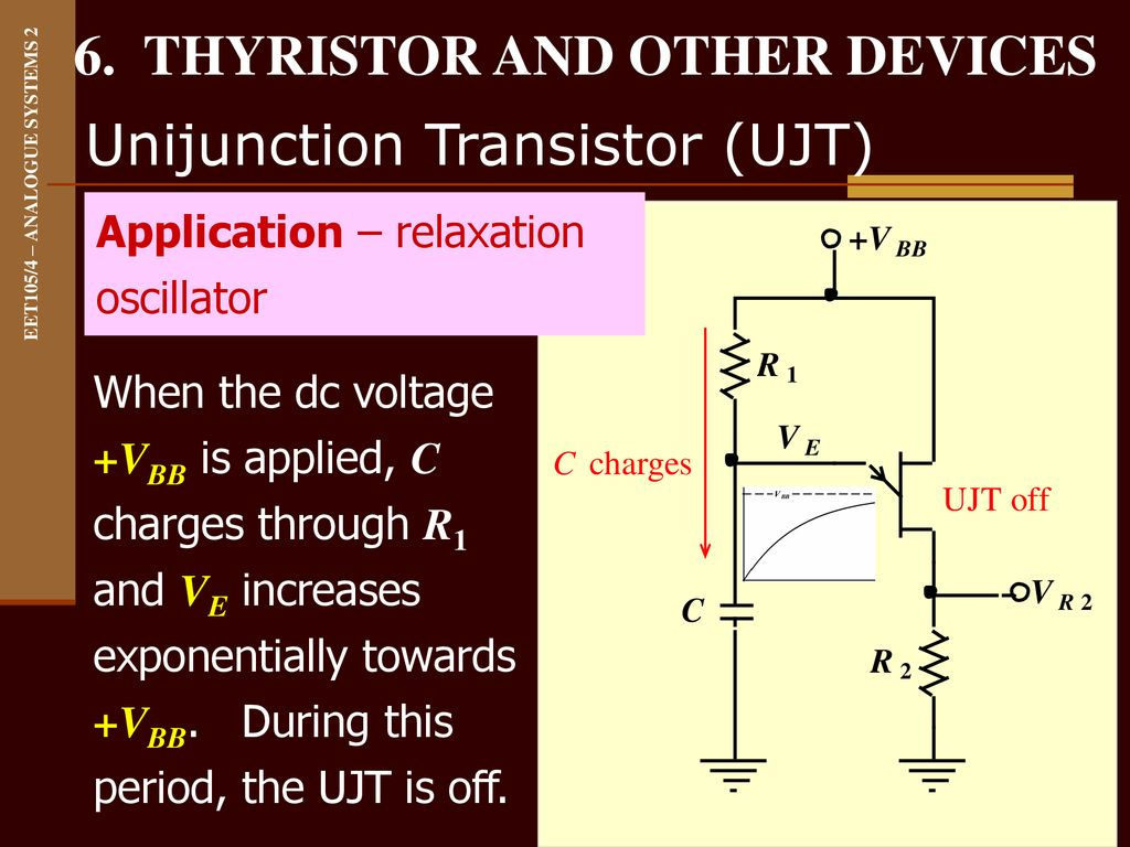 6 Thyristor And Other Devices Ppt Download Ujt Uni Junction Transistors 15 Unijunction Transistor