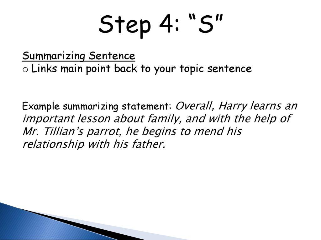 sentence of mend