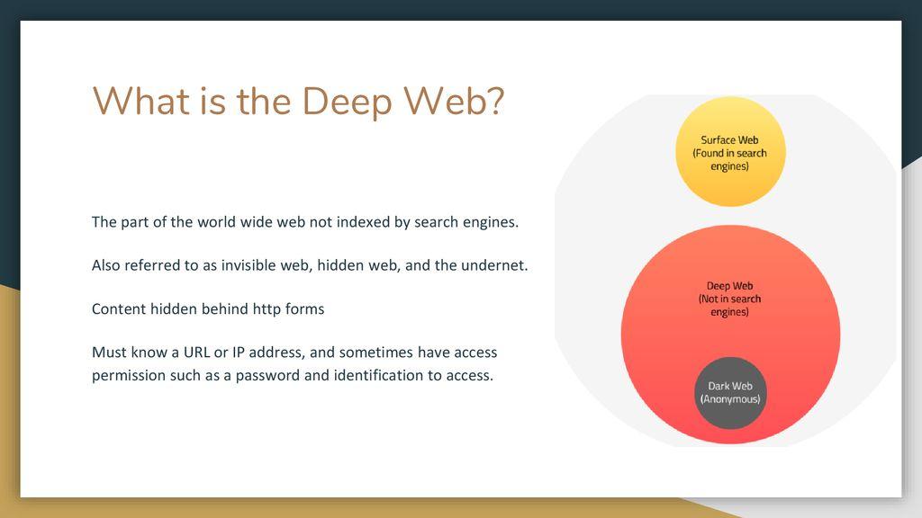 Dark Web, I2P, and Deep Web Team 5 - ppt download