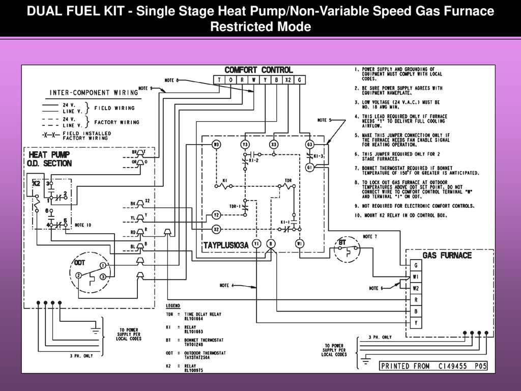 Table Of Contents Heat Pump Operation Charging Procedure Defrost Control Board On Furnace Circuit Replacement Cost Dual Fuel Kit Single Stage Non Variable Speed Gas