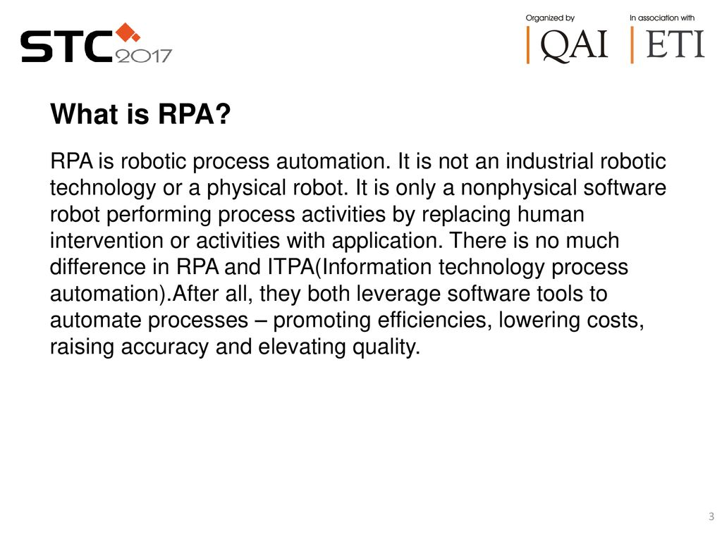 Importance of RPA (Robotic Process Automation) in software
