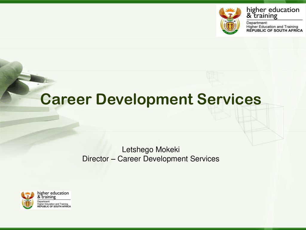 We start early to think about our career - ppt download
