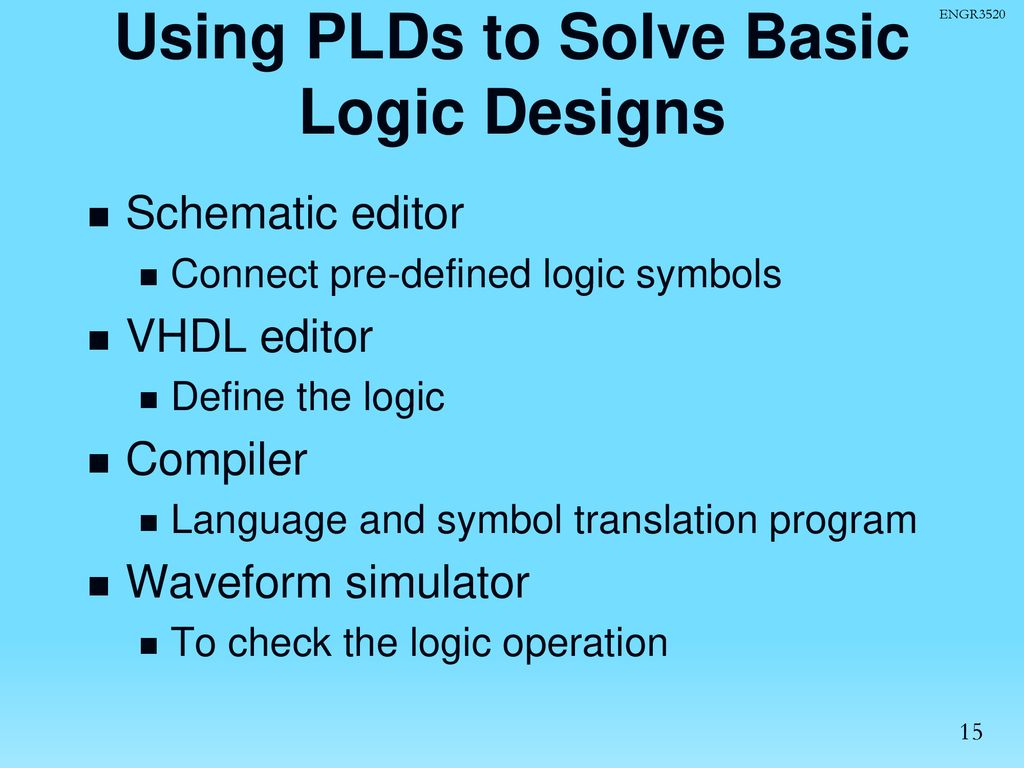 Programmable Logic Devices: CPLDs and FPGAs with VHDL Design
