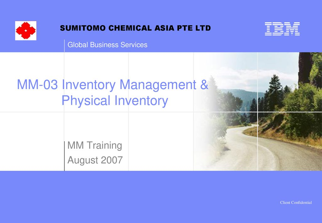 MM-03 Inventory Management & Physical Inventory - ppt download