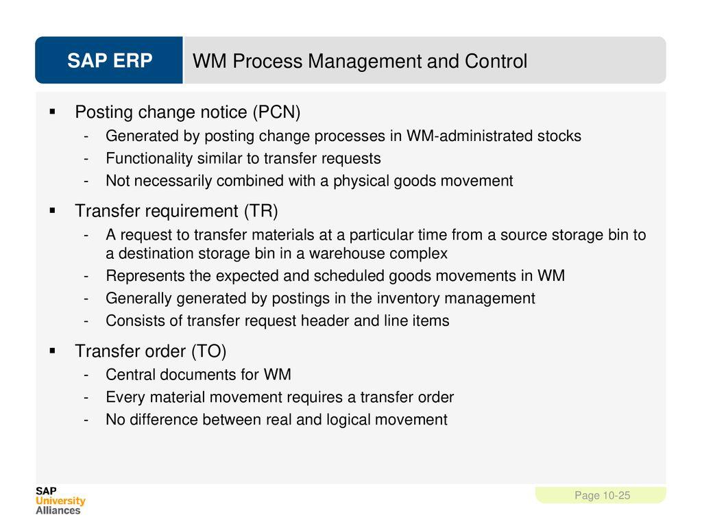 Warehouse Management (WM) - ppt download