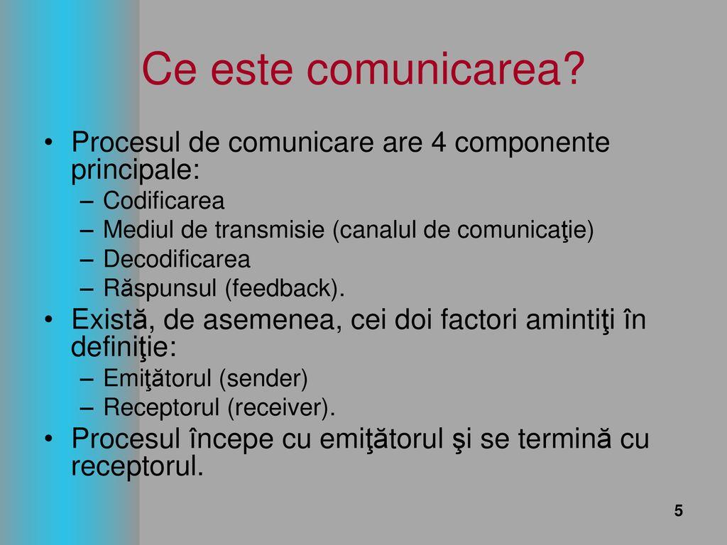 ce este comunicarea