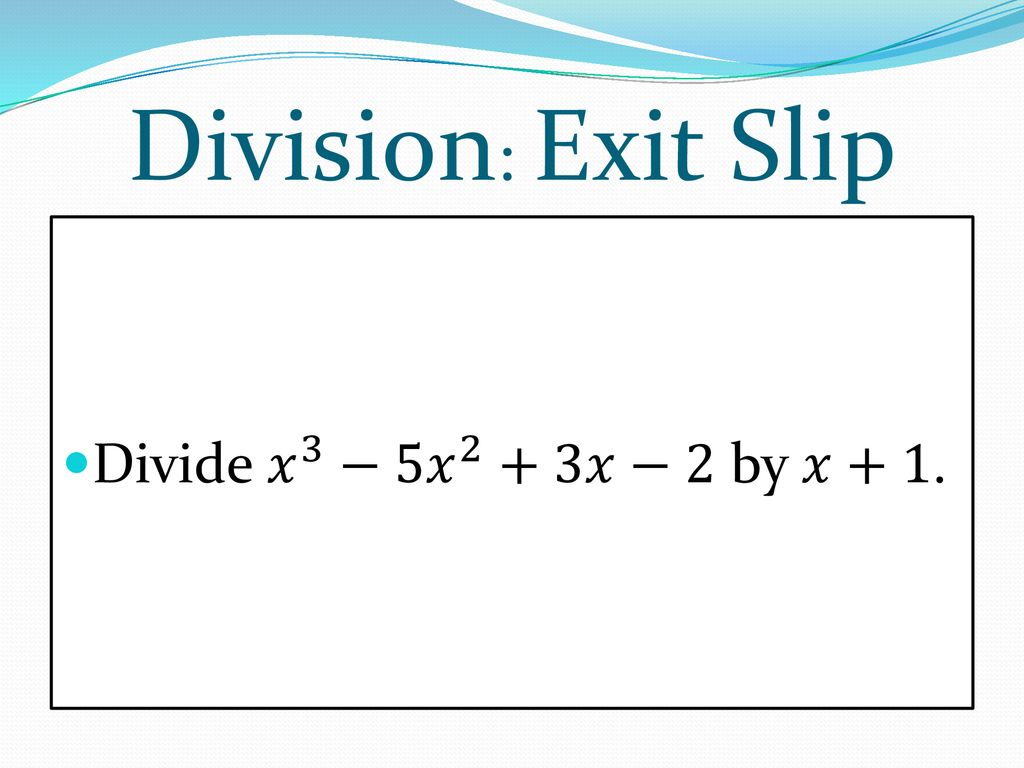 Real Zeros Of Polynomial Functions Ppt Download