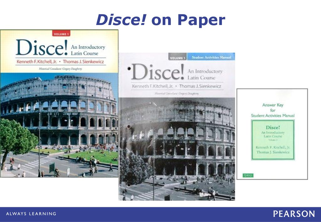 My Latin Lab Towards A Paperless Latin Course Ppt Download