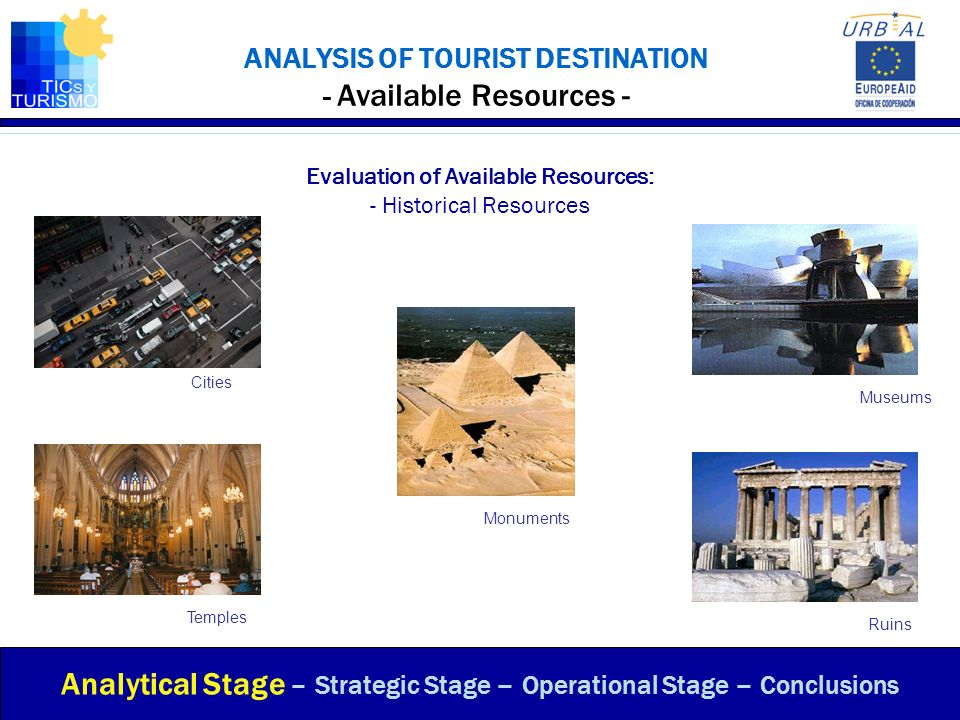 ANALYSIS OF TOURIST DESTINATION - Available Resources -