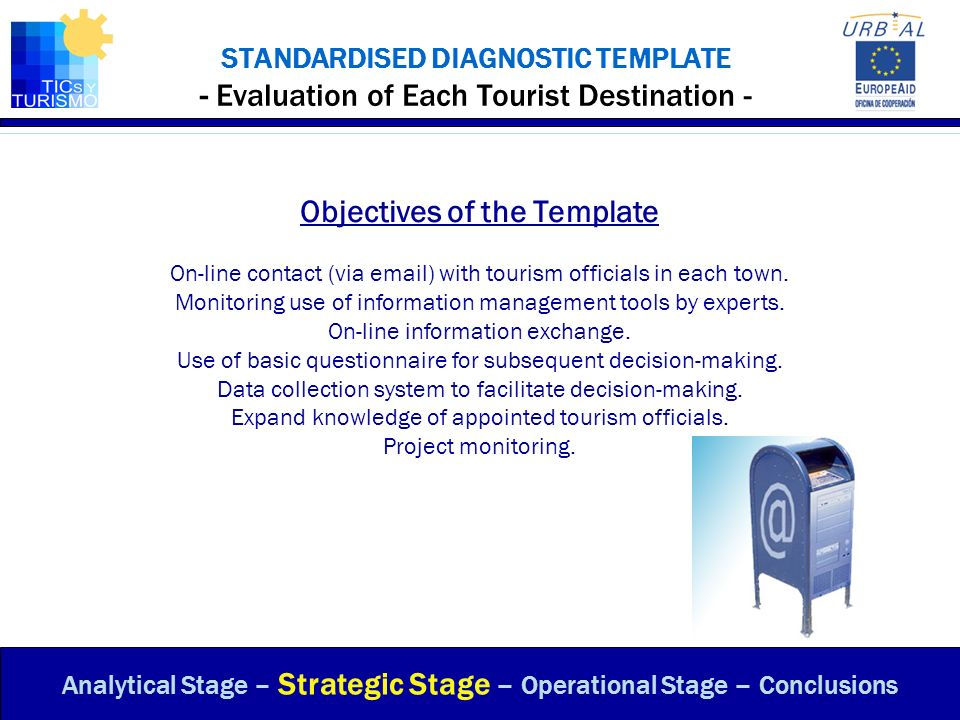 Objectives of the Template