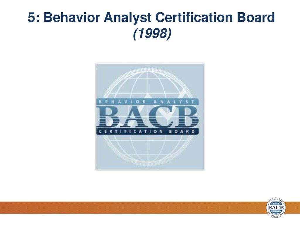 The Evolution of Certification Standards in Behavior