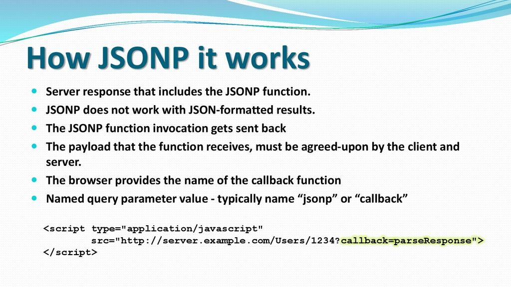 Session V HTML5 APIs - AJAX & JSON - ppt download