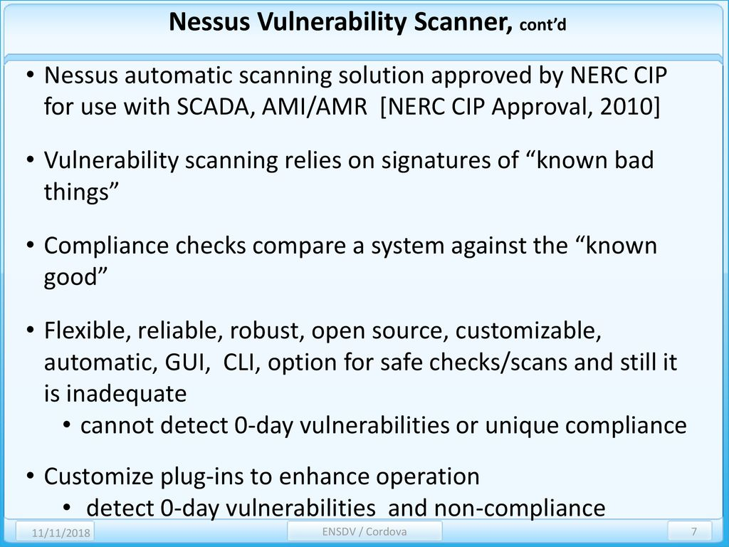 Network Scanning for Discovering Vulnerabilities - ppt download
