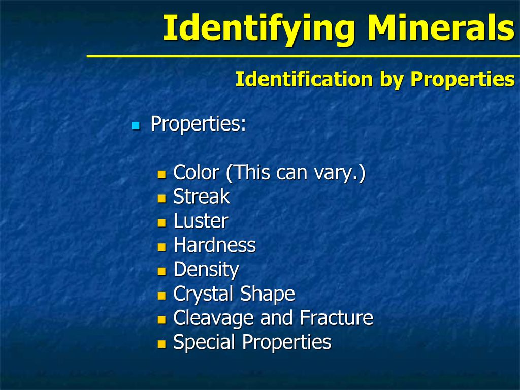 Chapter 2 1 What Are Minerals? - ppt download