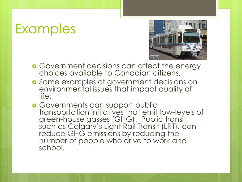 Impact of Environmental Responses - ppt download