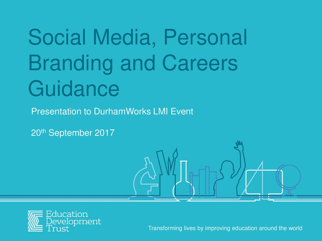 Social Media, Personal Branding and Careers Guidance - ppt