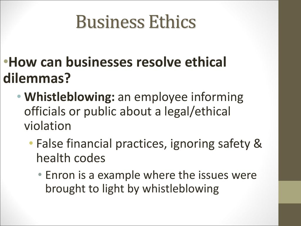 Ethics and Corporate Social Responsibility - ppt download