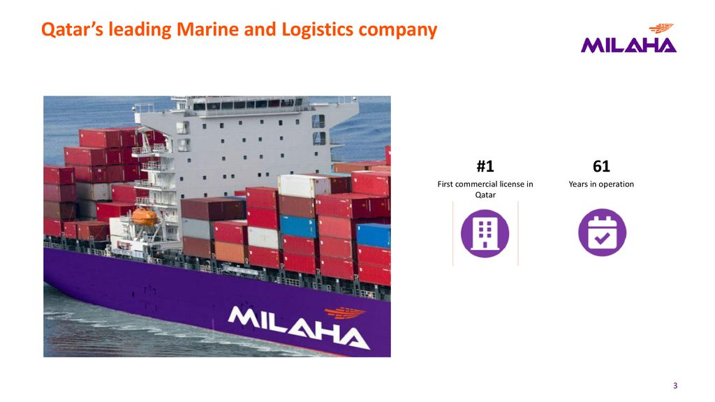 A leading Maritime and Logistics Provider - ppt download