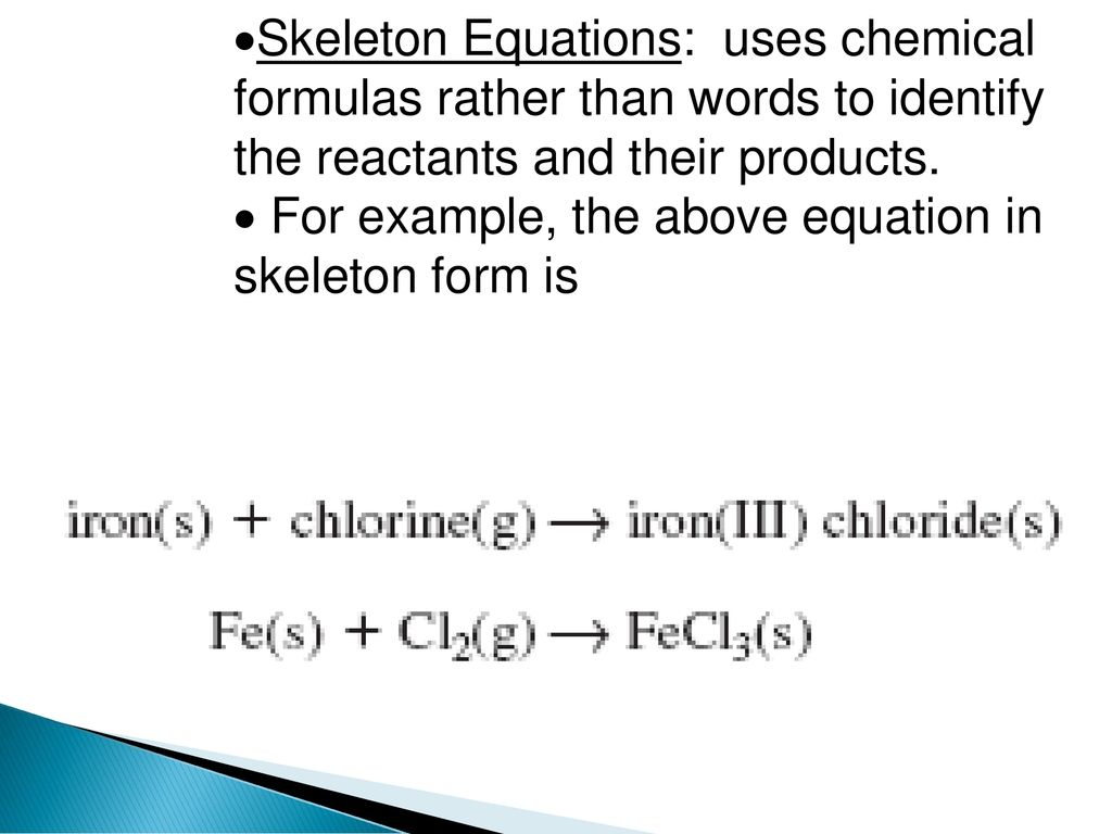 10.1 reactions and equations - ppt download
