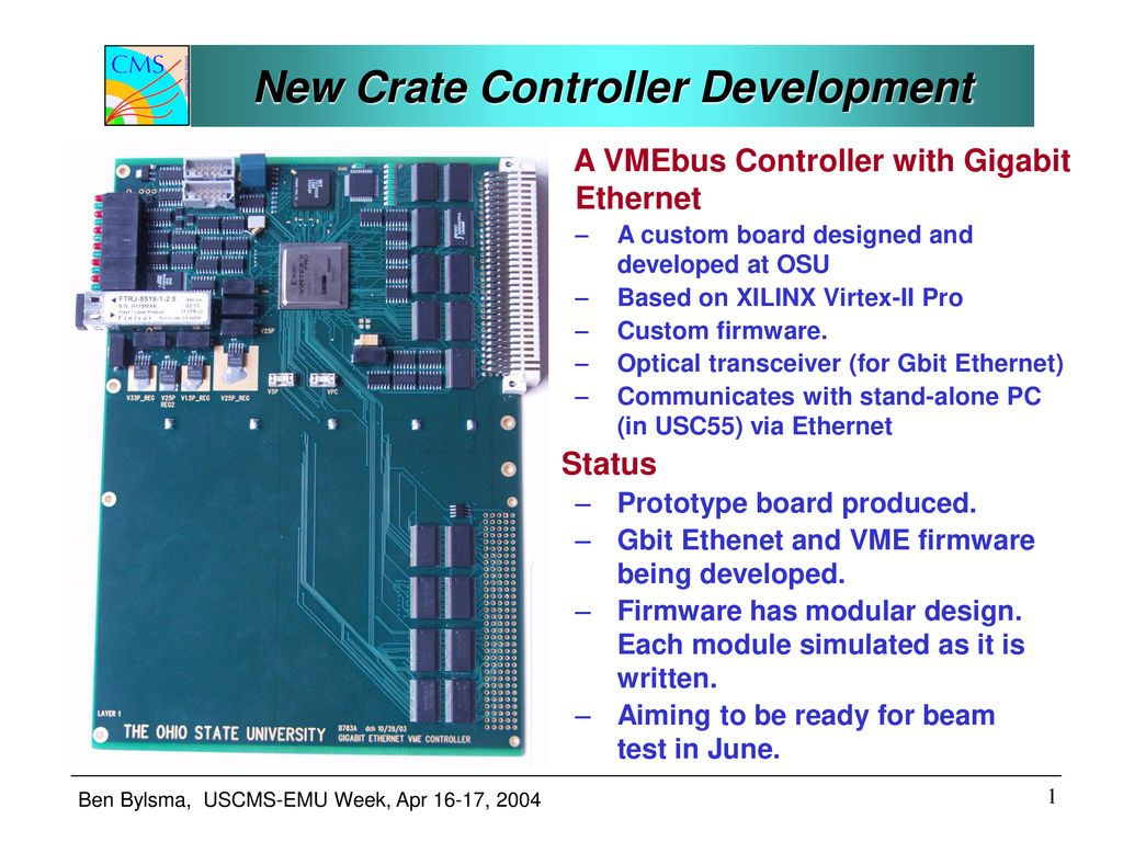 New Crate Controller Development - ppt download