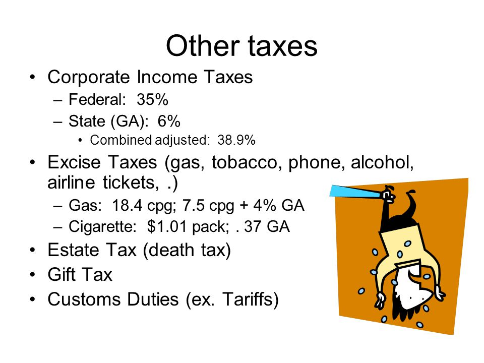 Other taxes Corporate Income Taxes