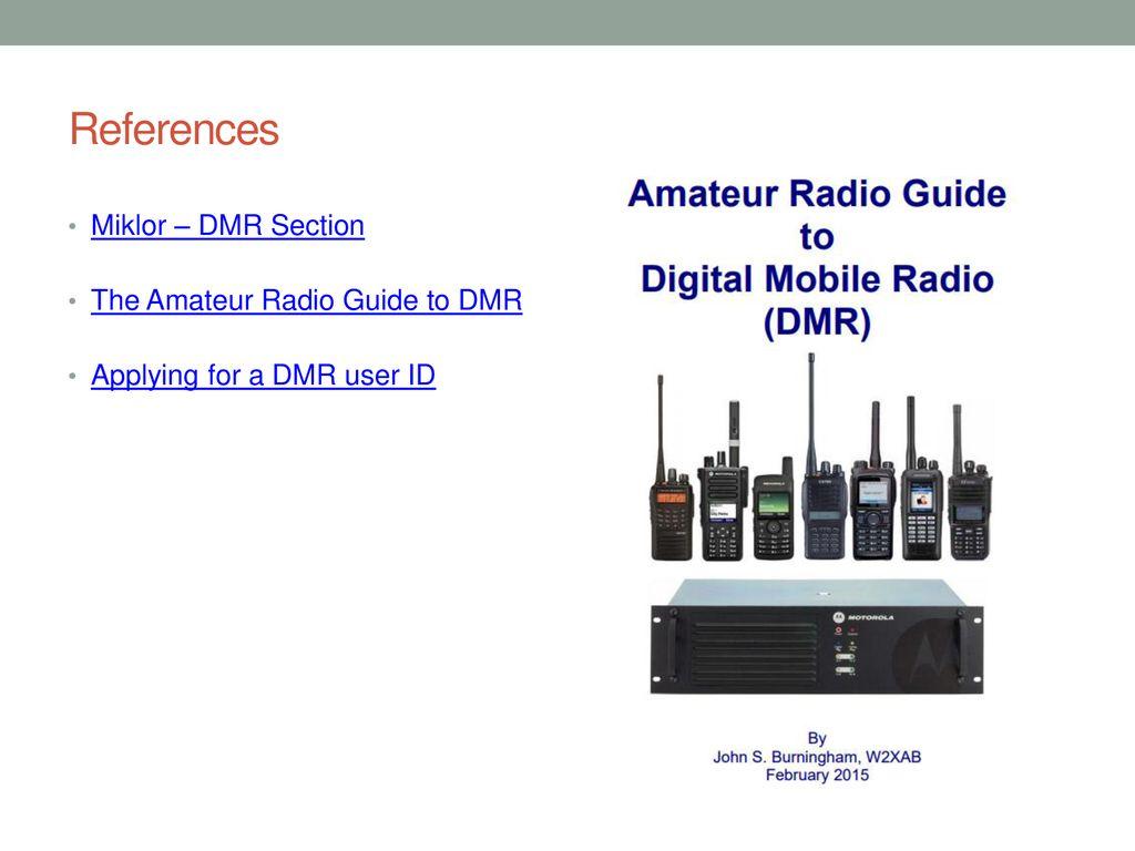 Digital Mobile Radio The very basics - ppt download