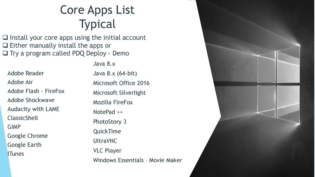 Pdq Deploy Windows 10 Updates
