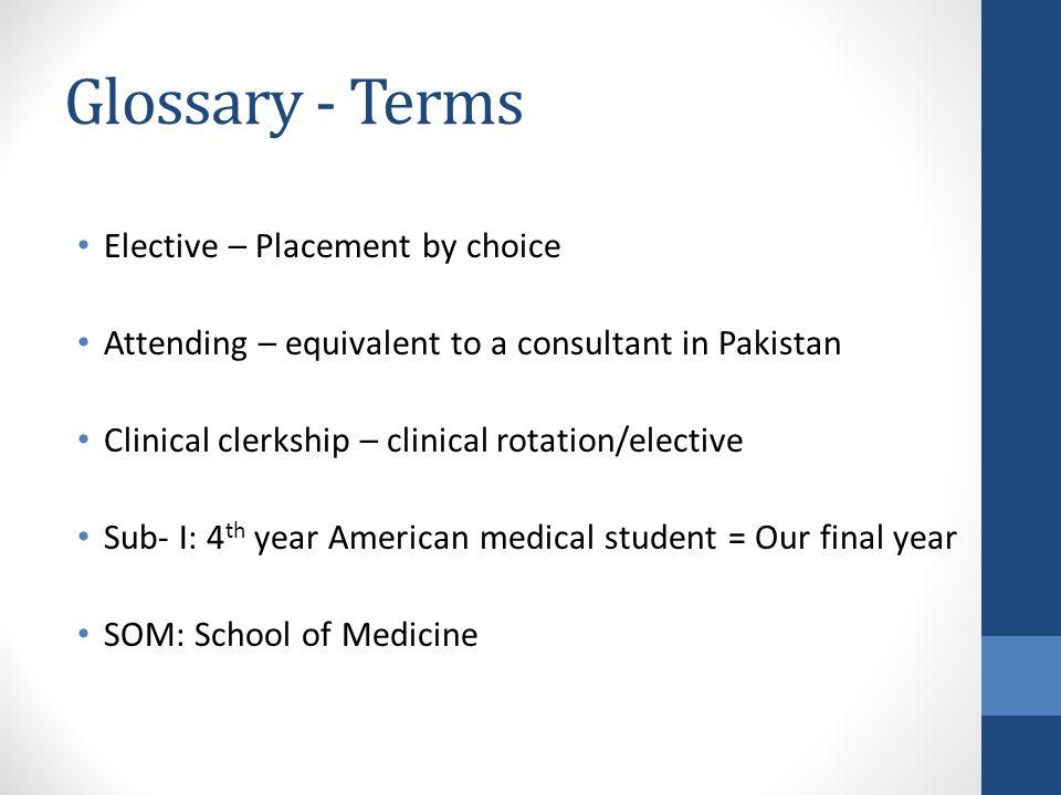 Clinical Electives Akbar Herekar Sub-internship