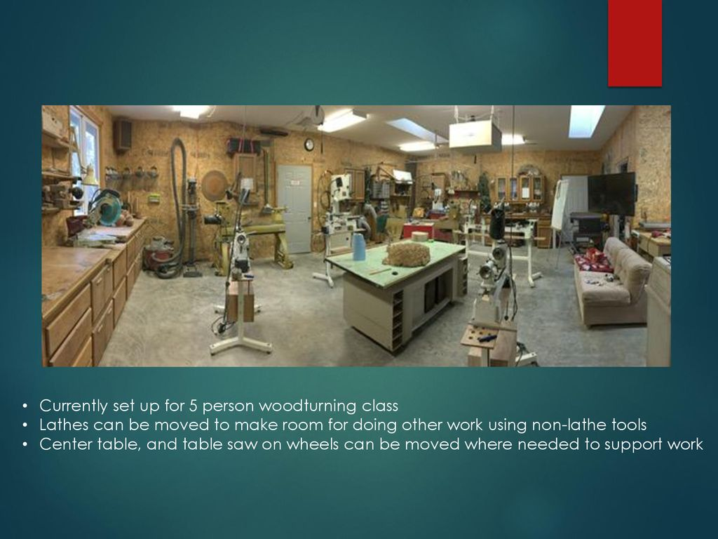 Setting Up Shop for the Woodturner - ppt download