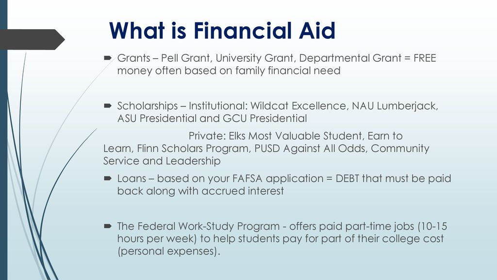 Asu Financial Aid >> Financial Aid Ppt Download