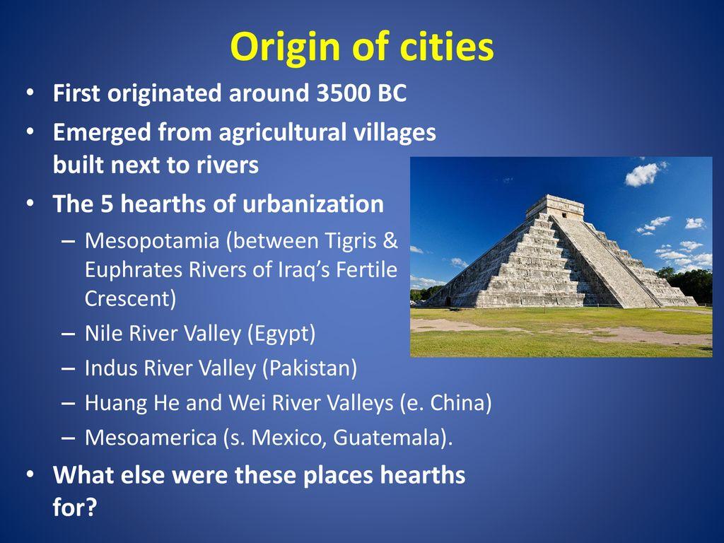 mesopotamia urbanization