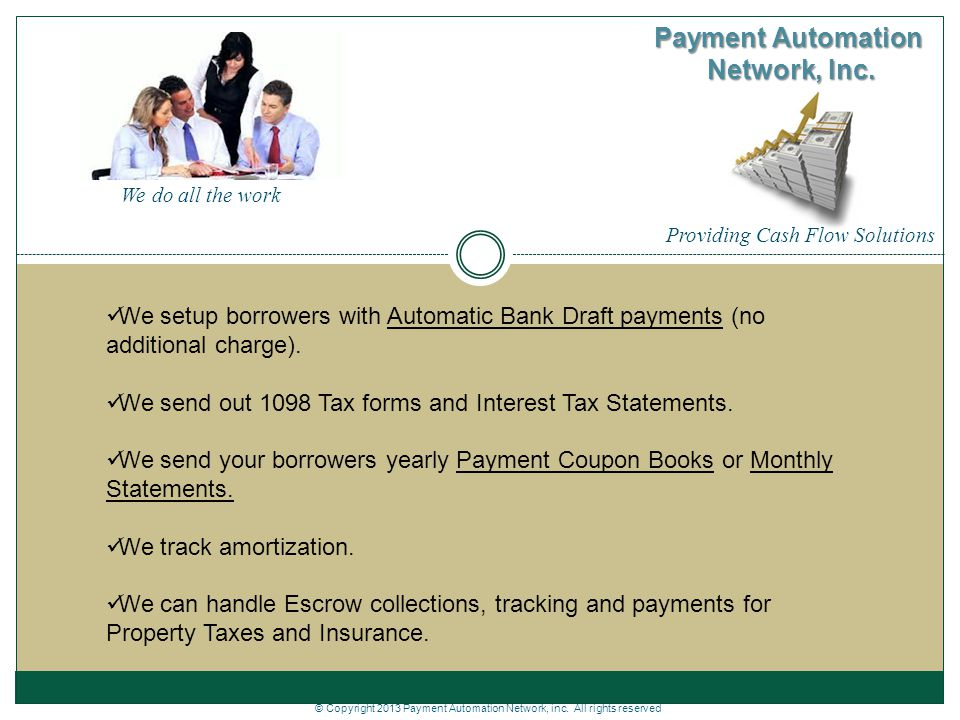Payment Automation Network, Inc. - ppt download