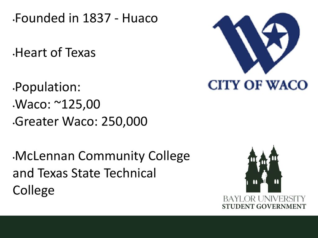 A Student's Guide to Waco - ppt download
