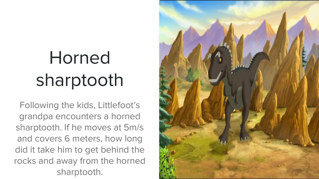 The Adventures of Littlefoot and the Gang  - ppt download