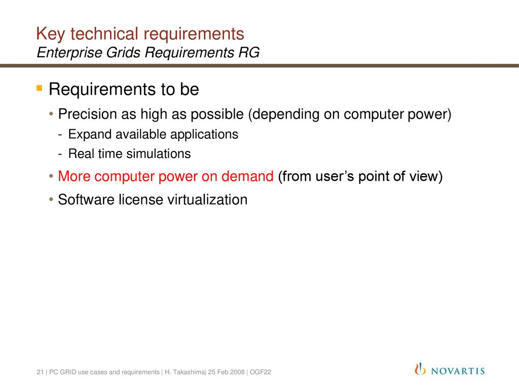 PC GRID use cases and requirements - ppt download