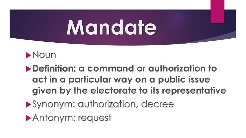 mandate synonym - 1024×576