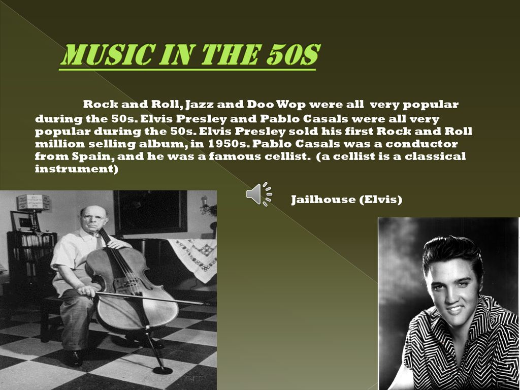 The 1950s By: Martin Domenech  - ppt download