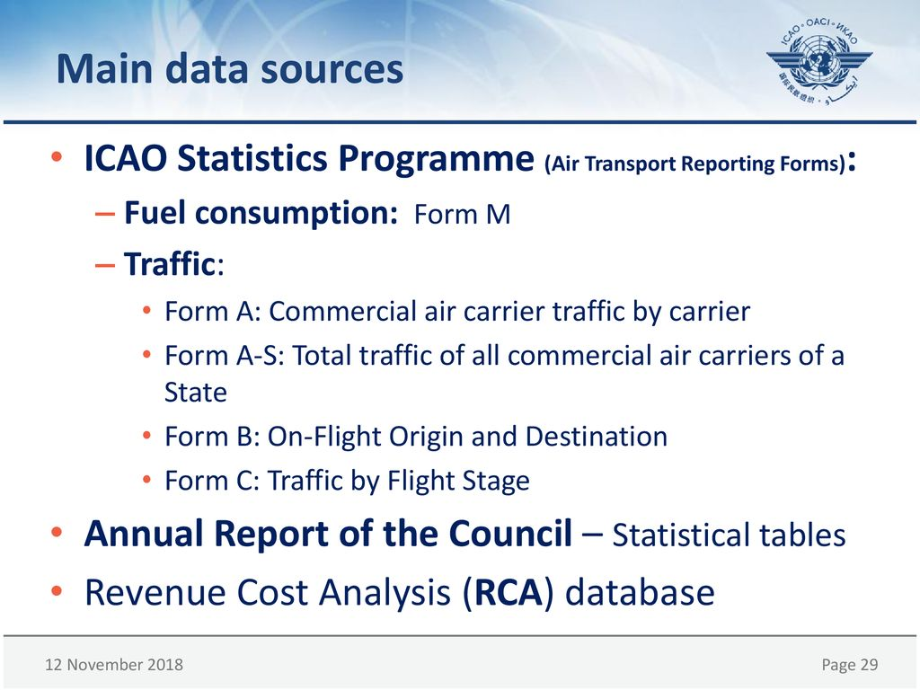 Aviation Data and Indicators - ppt download