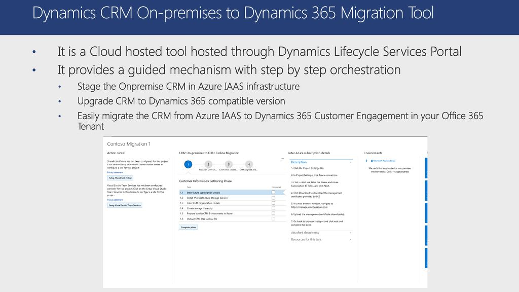 Dynamics CRM On-premises to Dynamics 365 Customer Engagement